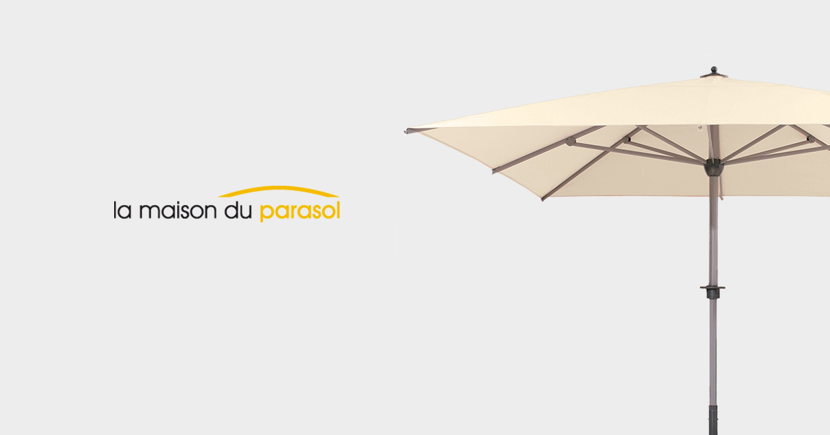 la maison du parasol sp cialiste du parasol haut de gamme. Black Bedroom Furniture Sets. Home Design Ideas