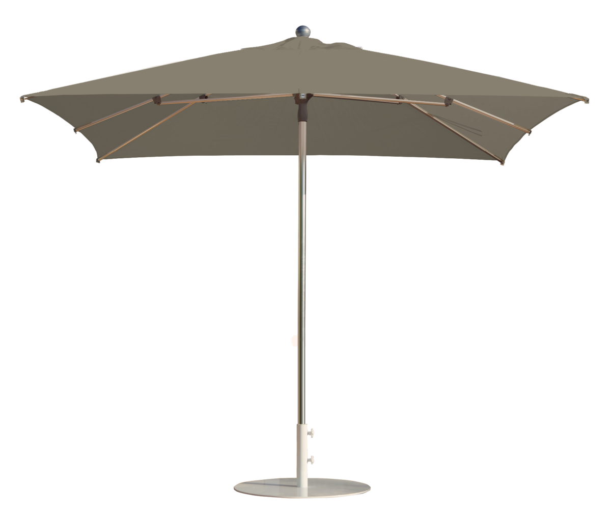 parasol prosun parasol carr 300x300 polyester taupe. Black Bedroom Furniture Sets. Home Design Ideas