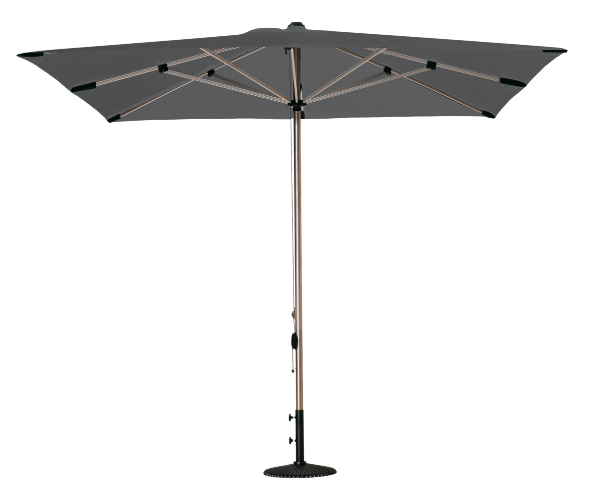 parasol selene parasol rectangulaire 300x200 polyester. Black Bedroom Furniture Sets. Home Design Ideas