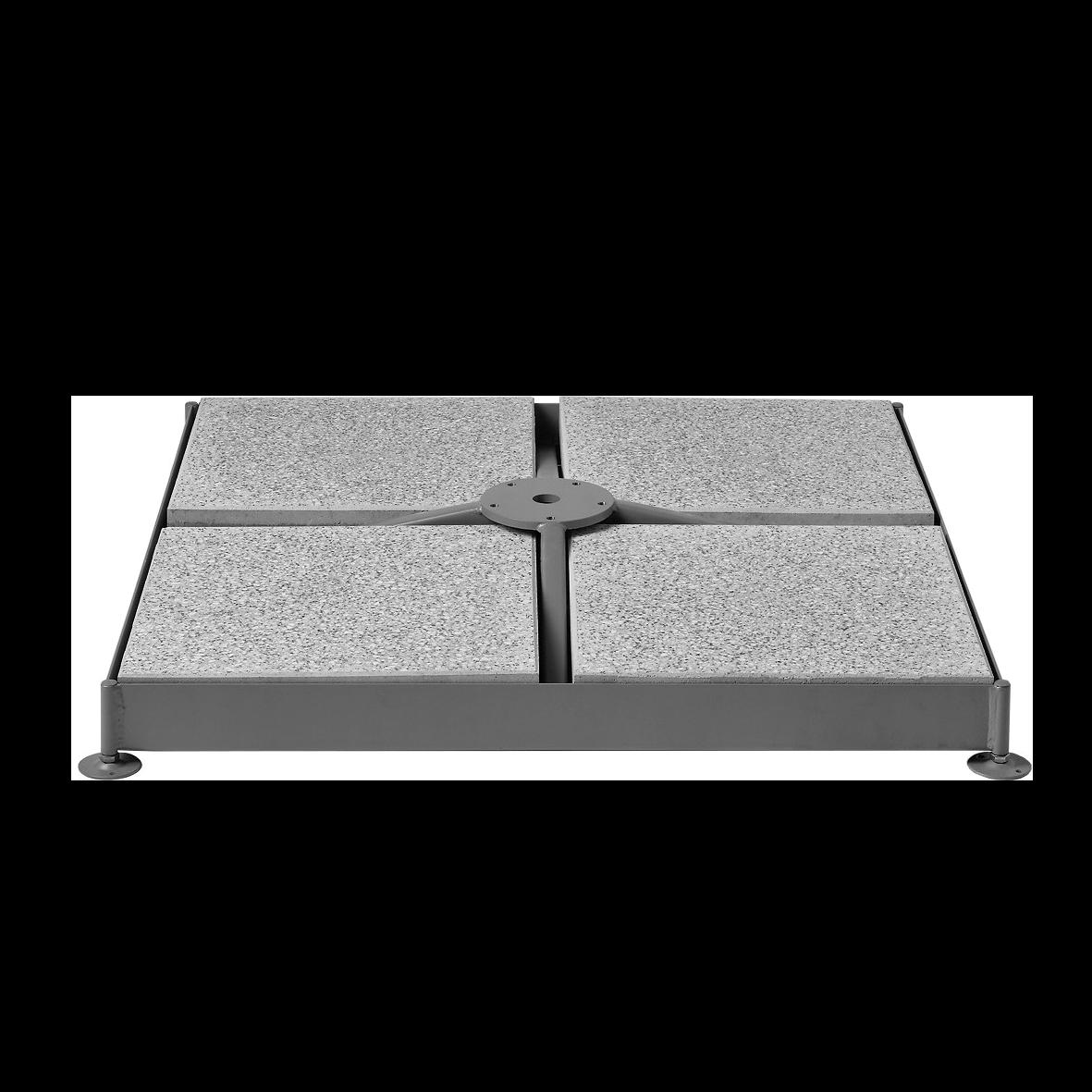 socle m4 120 kg la maison du parasol. Black Bedroom Furniture Sets. Home Design Ideas