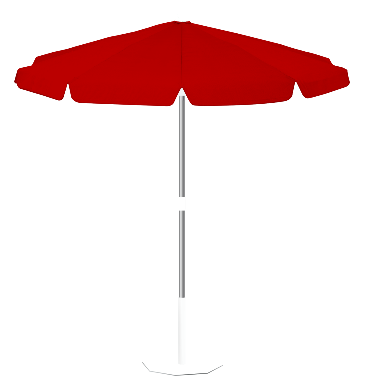 parasol miami parasol inclinable rond 200 polyester rouge la maison du parasol. Black Bedroom Furniture Sets. Home Design Ideas