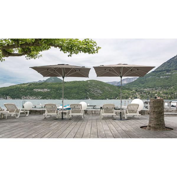 Parasol Prosun Le parasol carré et droit hautement résistant au vent