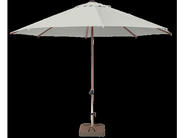 la maison du parasol good toile de x pour parasol excentr biscarrosse soie greige vue de la. Black Bedroom Furniture Sets. Home Design Ideas